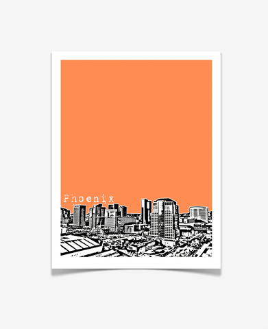 Phoenix Arizona Poster Version 1