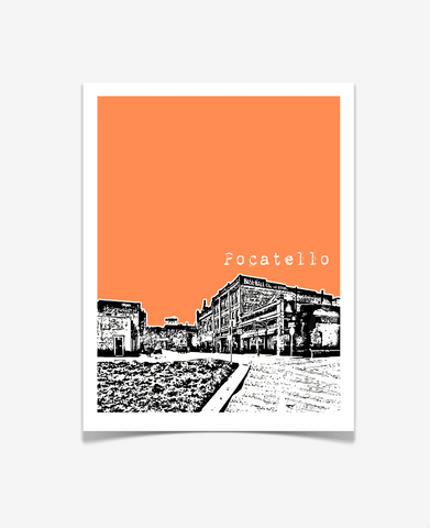 Pocatello Idaho Poster