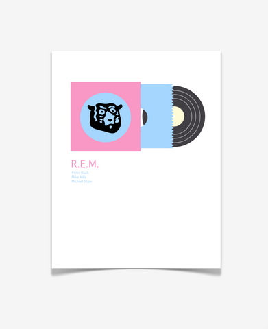 REM Album Art - Music Poster - Lifestyle