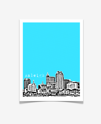 Raleigh North Carolina Poster