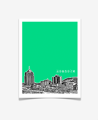Roanoke Virginia Poster