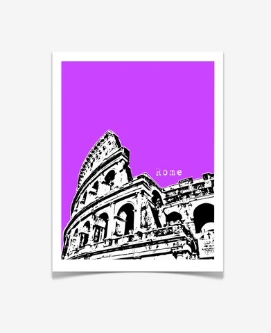 Rome Colosseum Europe Poster