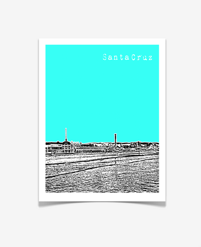 Santa Cruz California Poster