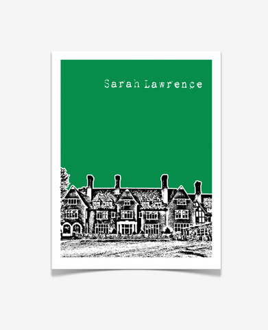 Sarah Lawrence College New York Poster