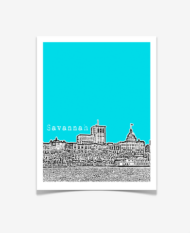 Savannah Georgia Poster