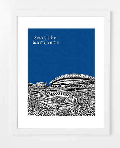 Seattle Mariners Washington Poster