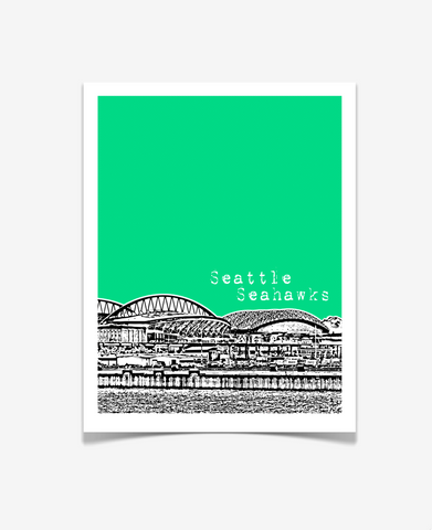 Seattle Seahawks Washington Poster