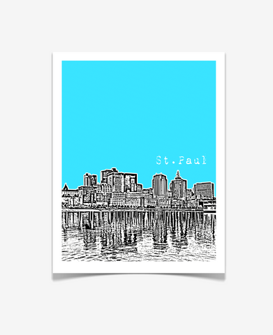 St. Paul Minnesota Poster