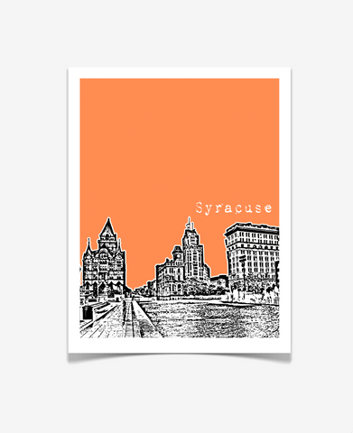 Syracuse New York Poster