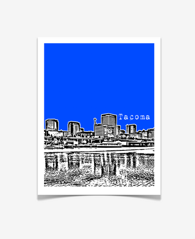 Tacoma Washington Poster