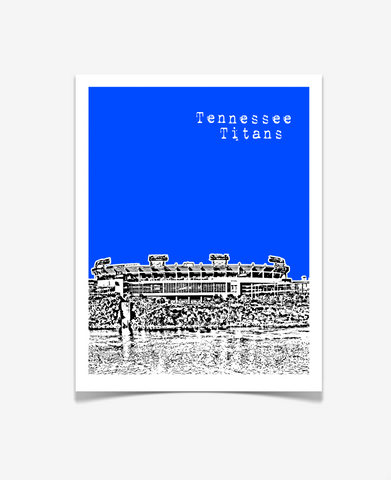 Tennessee Titans Nashville Poster