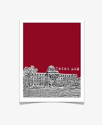 Texas A&M University Aggies Poster