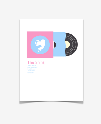The Shins Album Art - Music Poster - Lifestyle