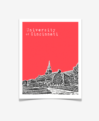 University of Cincinnati Ohio Poster