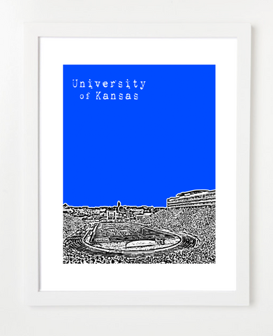 Memorial Stadium Skyline Art Print and Poster | By BirdAve Posters