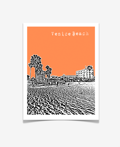 Venice Beach California Poster