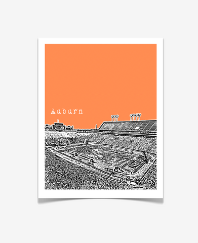 Auburn University Football Poster