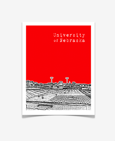 University of Nebraska Haymarket Park Poster