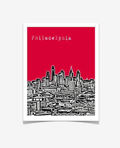 Philadelphia Pennsylvania Poster VERSION 3