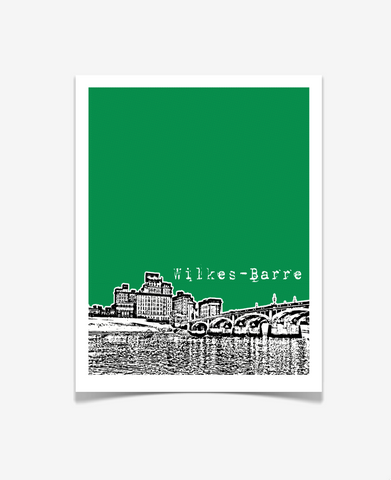 Wilkes-Barre Pennsylvania Poster