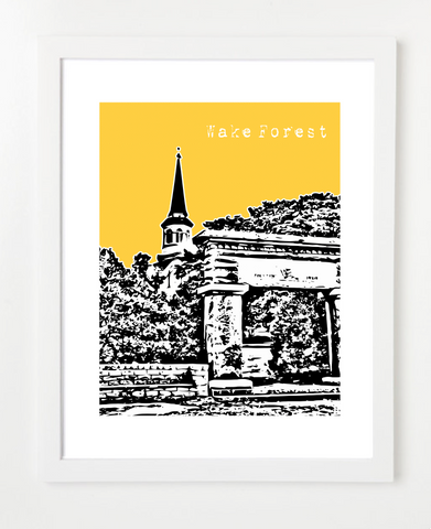Wake Forest North Carolina Poster
