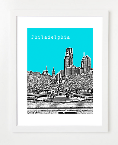 Philadelphia Pennsylvania Poster VERSION 4