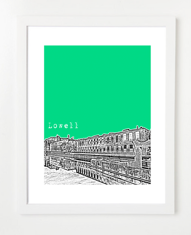 Lowell Massachusetts Poster
