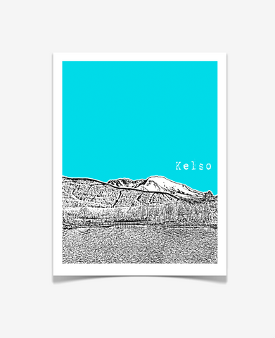 Kelso Washington Poster