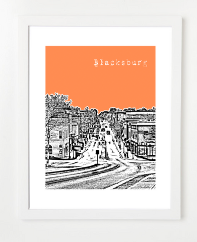 Blacksburg Virginia Poster