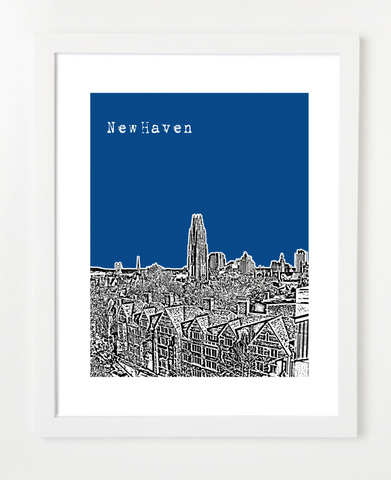 Yale University New Haven Connecticut Poster
