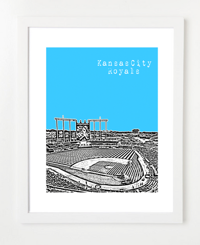 Kansas City Royals Kauffman Stadium Missouri Posters