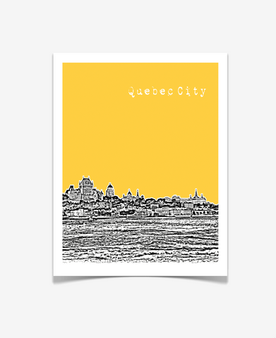 Quebec City Quebec Canada Poster