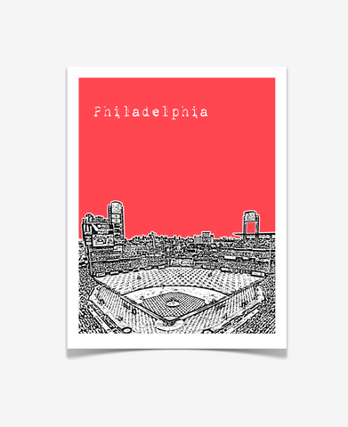 Philadelphia Phillies Pennsylvania Poster