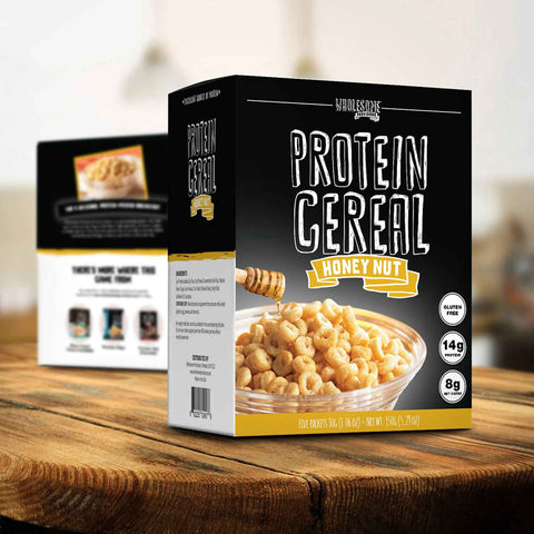 wholesome provisions, protein cereal, keto cereal, low carb cereal