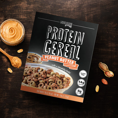 protein cereal peanut butter