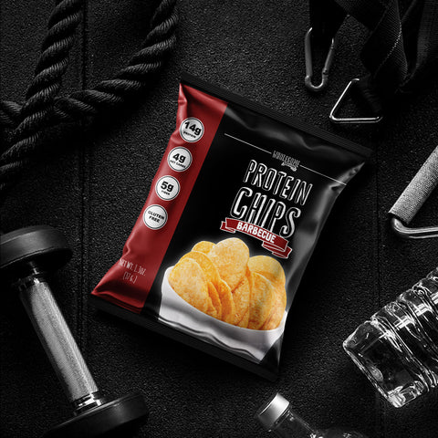 Wholesome provisions, protein chips, BBQ, low carb chips