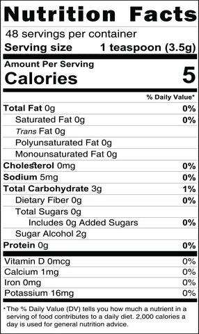 keto chocolate sprinkles nutritional facts, sugar free sprinkles, the peoples keto company