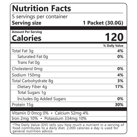 Wholesome provisions, protein cereal, cinnamon, nutritional facts
