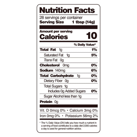 guy gone keto ketchup nutritional facts