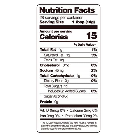 guy gone keto steak sauce nutritional facts
