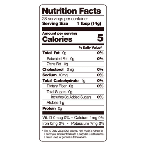 guy gone keto teriyaki sauce nutritional facts
