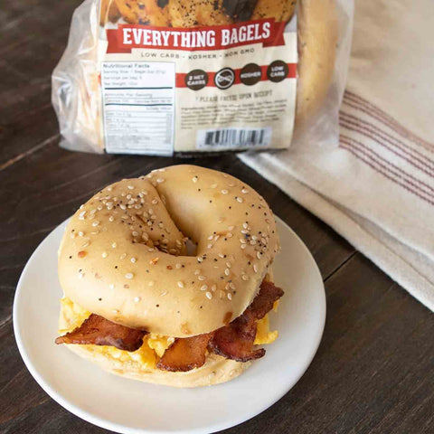great low carb bread company everything bagel