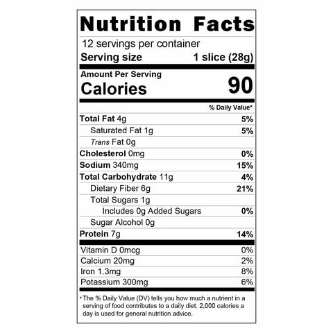keto flour, all purpose keto bake mix, great low carb bake mix, great low carb bread company nutritional facts