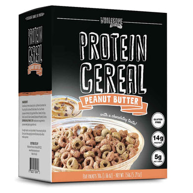 protein cereal peanut butter wholesome provisions