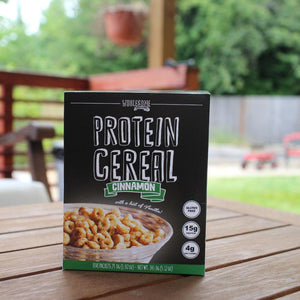 Cinnamon Protein Cereal - High Protein & Fiber, Low Carb