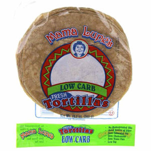 Mama lupe's, low carb tortilla, keto tortilla, high fiber tortilla