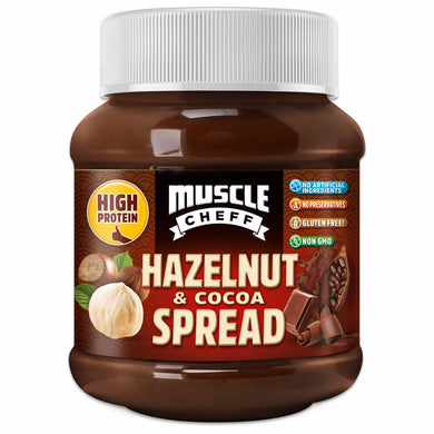 Protein Hazelnut & Cocoa Spread - High Protein, Low Carb, Non-GMO