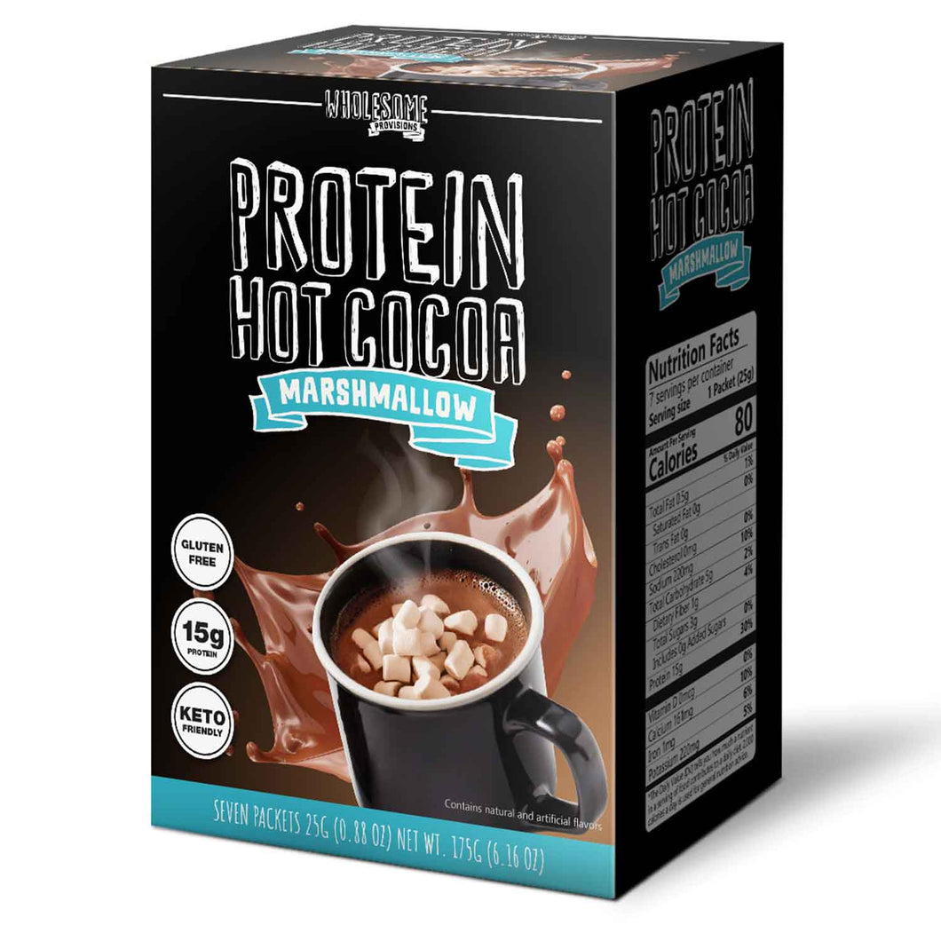 Protein Hot Chocolate with Mini Marshmallows Ingredients