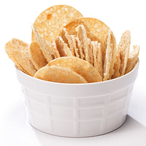 Wholesome provisions, protein chips, sea salt vinegar, low carb chips