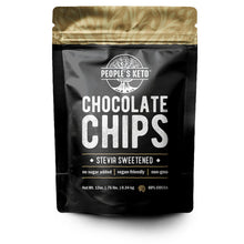 Sugar Free Chocolate Chips - Stevia Sweetened, Keto-Friendly, Vegan, Non-GMO, 12 oz.